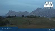 Archived image Webcam Piz Arlara (Alta Badia) 13:00