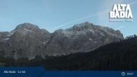 Archived image Webcam Alta Badia - Coz - Valley 21:00
