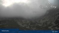 Archived image Webcam Tatranská Lomnica, Skalnaté pleso 18:00