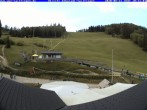 Archived image Webcam Panorama view from the roof of the WSV club at the Schwäbischen Alb 04:00