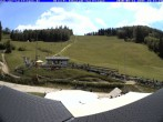 Archived image Webcam Panorama view from the roof of the WSV club at the Schwäbischen Alb 08:00