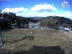 Archived image Webcam Winterberg: View St. Georg Ski Jump 08:00