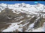 Archived image Webcam Monterosa - peak Jolanda 10:00