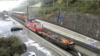 Archived image Webcam train station of Filisur 02:00
