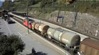 Archived image Webcam train station of Filisur 06:00