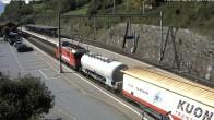 Archived image Webcam train station of Filisur 08:00