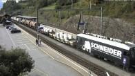 Archived image Webcam train station of Filisur 10:00