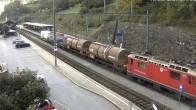 Archived image Webcam train station of Filisur 12:00