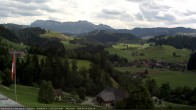 Archived image Webcam View from the Berghaus Eggiwil 10:00