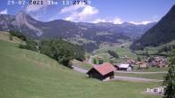 Archiv Foto Webcam in Boltigen-Eschi am Jaunpass 08:00
