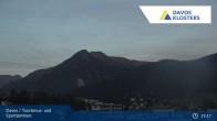 Archived image Webcam Tourism Center Davos 19:00