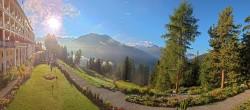 Archived image Webcam Schatzalp Hotel, Davos 07:00