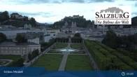Archiv Foto Webcam Salzburg: Schloss Mirabell 04:00
