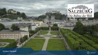 Archiv Foto Webcam Salzburg: Schloss Mirabell 06:00