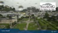 Archiv Foto Webcam Salzburg: Schloss Mirabell 08:00