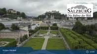 Archiv Foto Webcam Salzburg: Schloss Mirabell 12:00