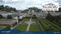 Archiv Foto Webcam Salzburg: Schloss Mirabell 14:00