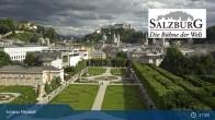 Archiv Foto Webcam Salzburg: Schloss Mirabell 16:00