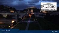 Archiv Foto Webcam Salzburg: Schloss Mirabell 20:00
