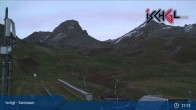 Archived image Webcam Funpark at Idalp (2.300m) 19:00