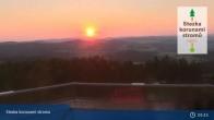 Archived image Webcam Reservoir Lipno 23:00
