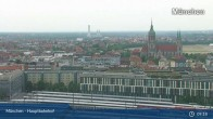 Archiv Foto Webcam München: Livestream am Hauptbahnhof 08:00