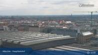 Archived image Webcam Munich (Bavaria) - Main Station 07:00