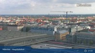 Archived image Webcam Munich (Bavaria) - Main Station 11:00