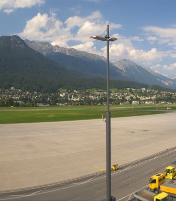 Airport Innsbruck Panorama