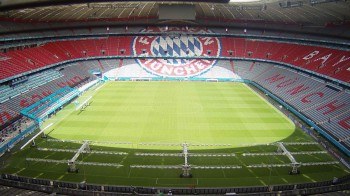 Allianz Arena in Munich, Bavaria