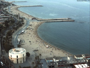 Barcelona - View to the Beach