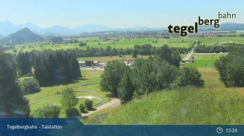 """base station of the """"Tegelberg"""" (800 m)"""