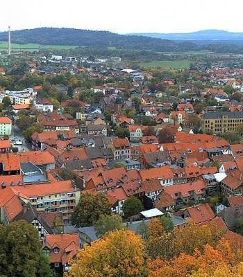 Blankenburg: panoramic view