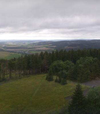 Bleßberg Mountain Near Sachsenbrunn