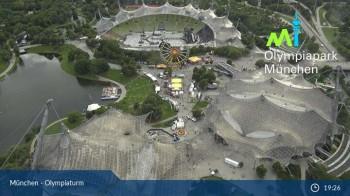München: Blick über den Olympiapark