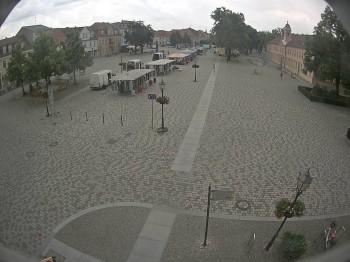 Blick auf den Stadtplatz von Neuruppin