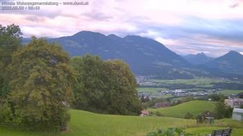 Blick auf Frastanz (Vorarlberg, Österreich)
