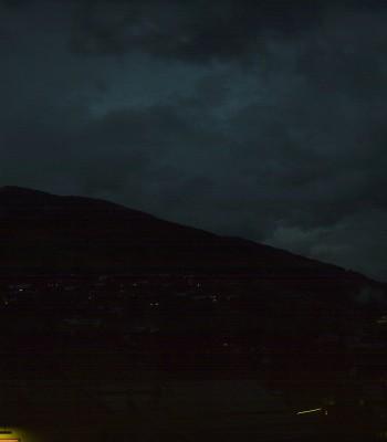 Blick über Saalbach vom Alpinresort