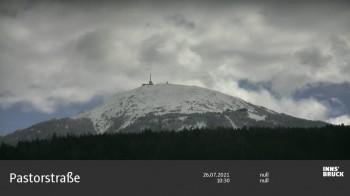 Blick von Innsbruck auf den Patscherkofel