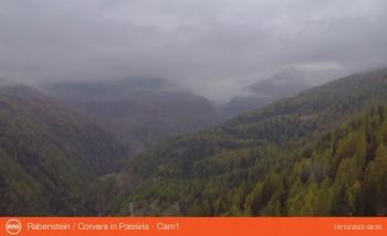 Blick von Rabenstein in Passeier auf das Timmelsjoch (Südtirol)
