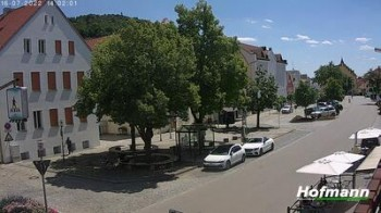 Bogen in Lower Bavaria - village square