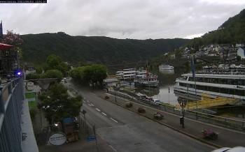 Cochem Uferpromenade - Blick auf die Mosel