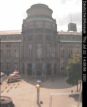 Deutsches Museum Munich - Entrance