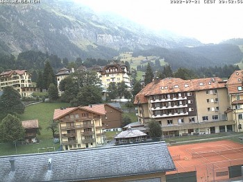 Dorf Wengen