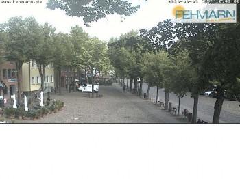 Fehmarn: Marktplatz in Burg