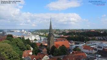 Flensburg - View to the North