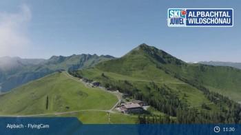 Flying Cam: Alpbachtal von oben