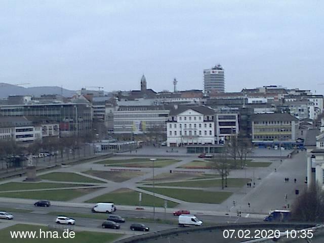 Webcam Kassel Friedrichsplatz