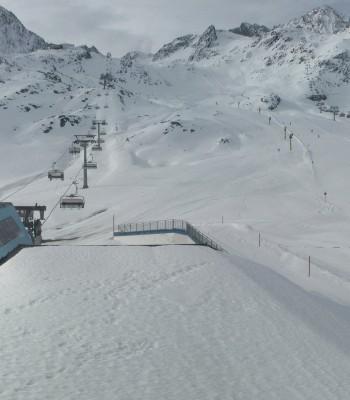 Gamsgarten, Stubai glacier