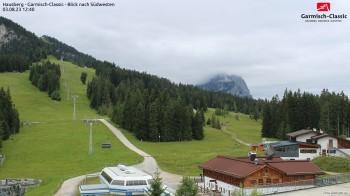 Garmisch - Hausberg/Bergstation - Blick nach Südwesten